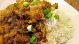 Tex Mex Chicken & Cabbage Over Rice Recipe