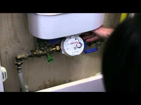 Watermeter vinden en stand opnemen
