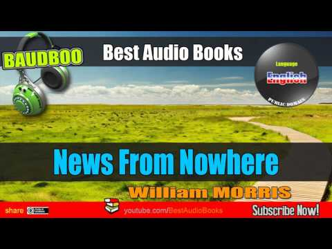 News From Nowhere [ William MORRIS ] - [ Fantasy - Best AudioBooks ]