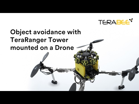 Obstacle avoidance for indoor drone flight! - Terabee