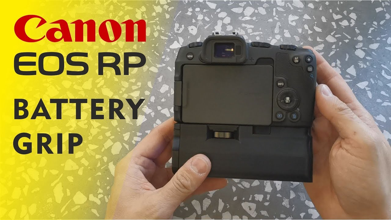 Battery Grip For Canon Eos Rp Quick Look