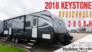 Check out the 2018 KEYSTONE SPRINGDALE 280BH