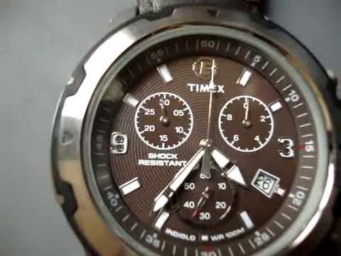 5838c409dab TIMEX EXPEDITION T49627WKL Marron