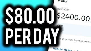 Earn $80.00 Per Day For FREE! (NEW Method)  Make Money Online 2019