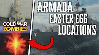 ARMADA ALL Locations: Amplifiers, Monkeys, Projetor and Red Rift For Outbreak Easter Eggs