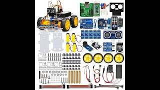 OSOYOO Robot Car Kit V2.0 for Arduino lesson 1: Install UNO R3 Board and Motors on Chassis