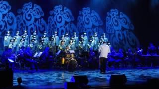 Red Army Choir. MVD. Director and Conductor ; Gen. Viktor ELISEEV in Ashdod- Israel Jan. 2017