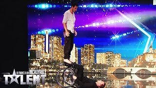 GOLDEN BUZZER  - Florent & Justin - France's Got Talent 2017