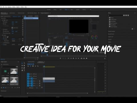 A Creative Idea For Your Movie