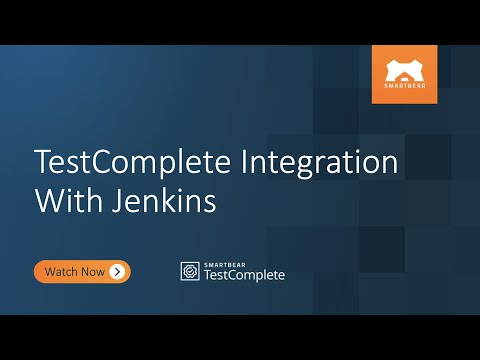 TestComplete Integration With Jenkins