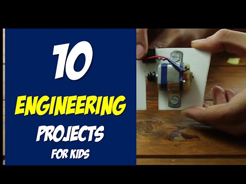 Top 10 Fun Engineering Science Projects for Kids in School or Home