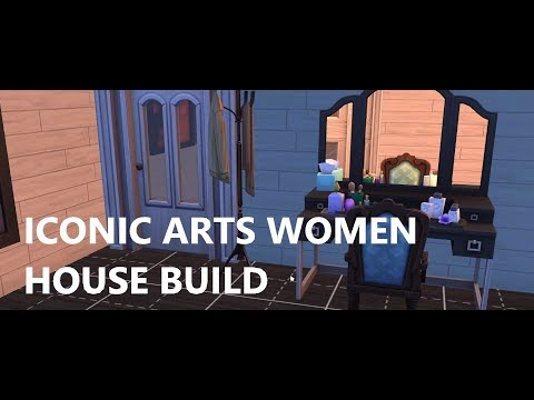 ICONIC ARTS WOMEN MANSION!! | The Sims 4 House Build (Speedbuild)