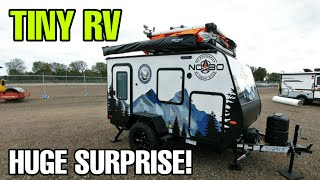 CRAZY LITTLE RV!  With a HUGE Surprise inside! NB10.6