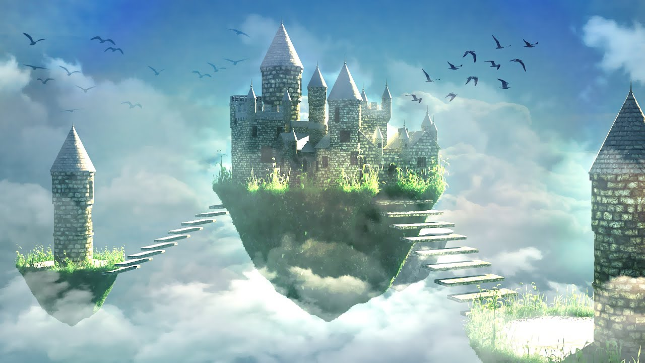 3d Fantasy Nature Wallpaper Making Of Fantasy Castle 3ds Max Tutorial Part 1 Youtube