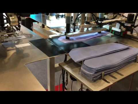 MAICA Italia - MA17 Automated Buttonholes and Button for Cuffs