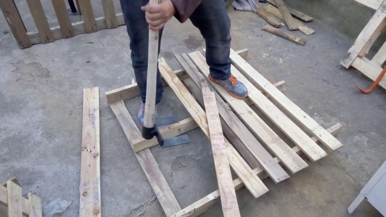 herramienta para desarmar pallets youtube