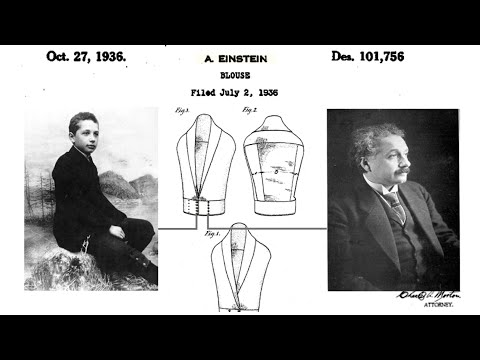 Einstein patented a blouse, and more secrets about Einstein's tryst with patents.