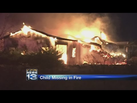 1 child unaccounted for after New Mexico house fire
