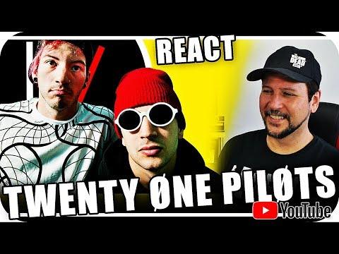 TWENTY ONE PILOTS -TYLER JOSEPH & JOSH DUN - Reagindo React Reação Hip Hop Reggae Pop Rock Rap
