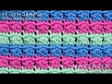 Faux Fake Broomstick Lace Without a Knitting Needle – Learn How to Crochet by Naztazia