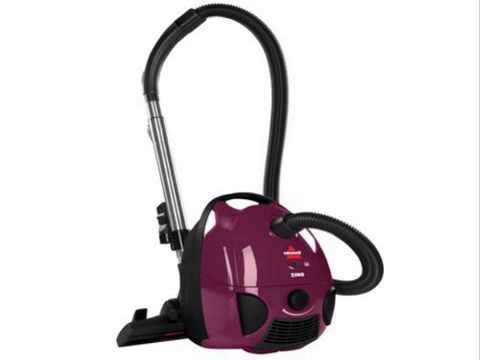 Bissell Zing Bagged Canister Vacuum Purple 4122 Youtube