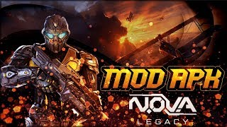 NOVA LEGACY MOD APK LATEST VERSION - Unlimited Money and Trilithium