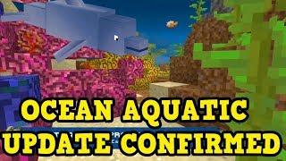 Minecraft PE / Xbox / PS NEW OCEAN UPDATE FEATURES