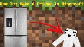 minecraft fridge working mods
