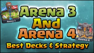 clash royale best arena 3 and arena 4 decks and strategy top decks for arena 3 4 and higher