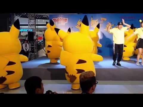 Pikachu song , pikachu remix, Pokemon go, Pikachu dance,  pikachu cute- video for childen