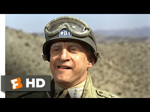 Patton (3/5) Movie CLIP - Rommel, You Magnificent Bastard (1970) HD