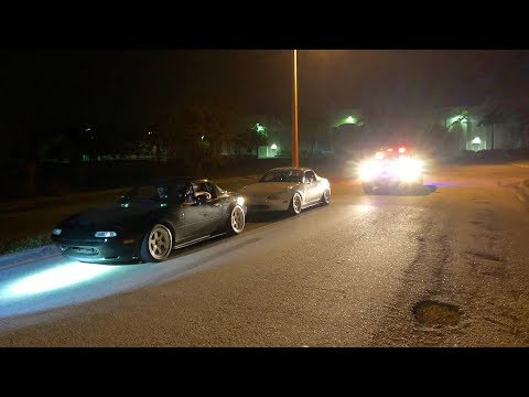 COPS IN FLORIDA DONT LIKE SWAPPED MIATAS!