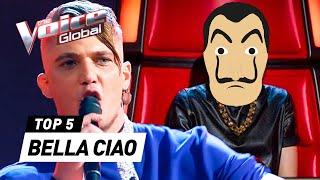 Bella Ciao, Bella Ciao, Bella Ciao, Ciao, CIAOOOO on The Voice 🎶