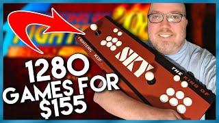 Play 1280 Arcade Games at Home - Pandora's Box 9