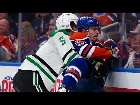 Oilers vs. Stars