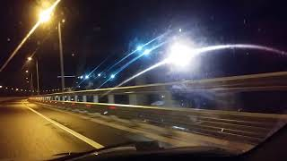 Крымский мост ночью...