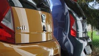 Vergleichstest Seat Mii: Benziner kontra Erdgas
