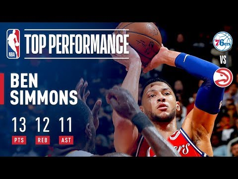 Ben Simmons Makes It Look EASY For His 11th Career Triple Double!