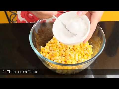 Easiest Crispy Corn Recipe | Chatpata Crispy Corn | Tea Time Snack ~ The Terrace Kitchen