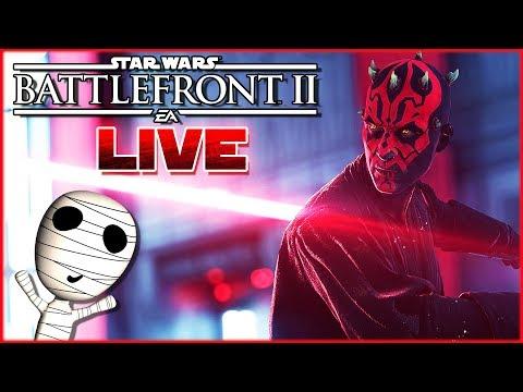 Die Macht der dunklen Seite! 🔴 Star Wars: Battlefront II // PS4 Livestream thumbnail
