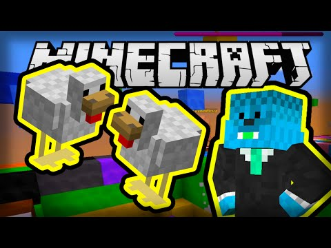Minecraft: KOKOŠ NAM ZADAJE ZADATKE | Bawk Bawk Battles