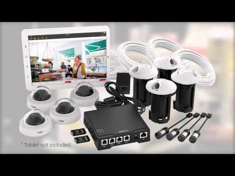 AXIS F34 Surveillance System – surveillance in one box