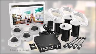 Système de surveillance AXIS F34 vidéo