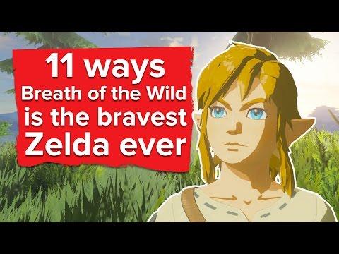 11 Ways Zelda Breath of the Wild is the Bravest Zelda Ever