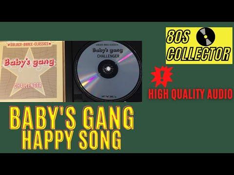 Baby's Gang - Happy Song (Good Quality) #ItaloDisco #Eurodisco #80s