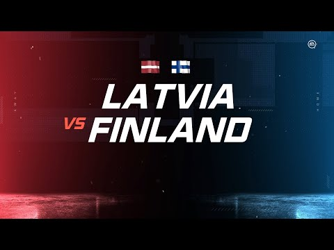 Finland Vs. Latvia | PS4 Simulated | 2020 IIHF Ice Hockey World Championship