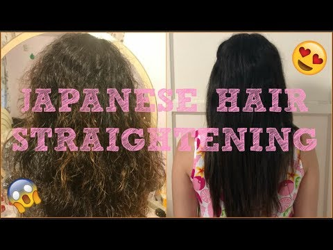 Japanese Hair Straightening Treatment Before 7 Months After