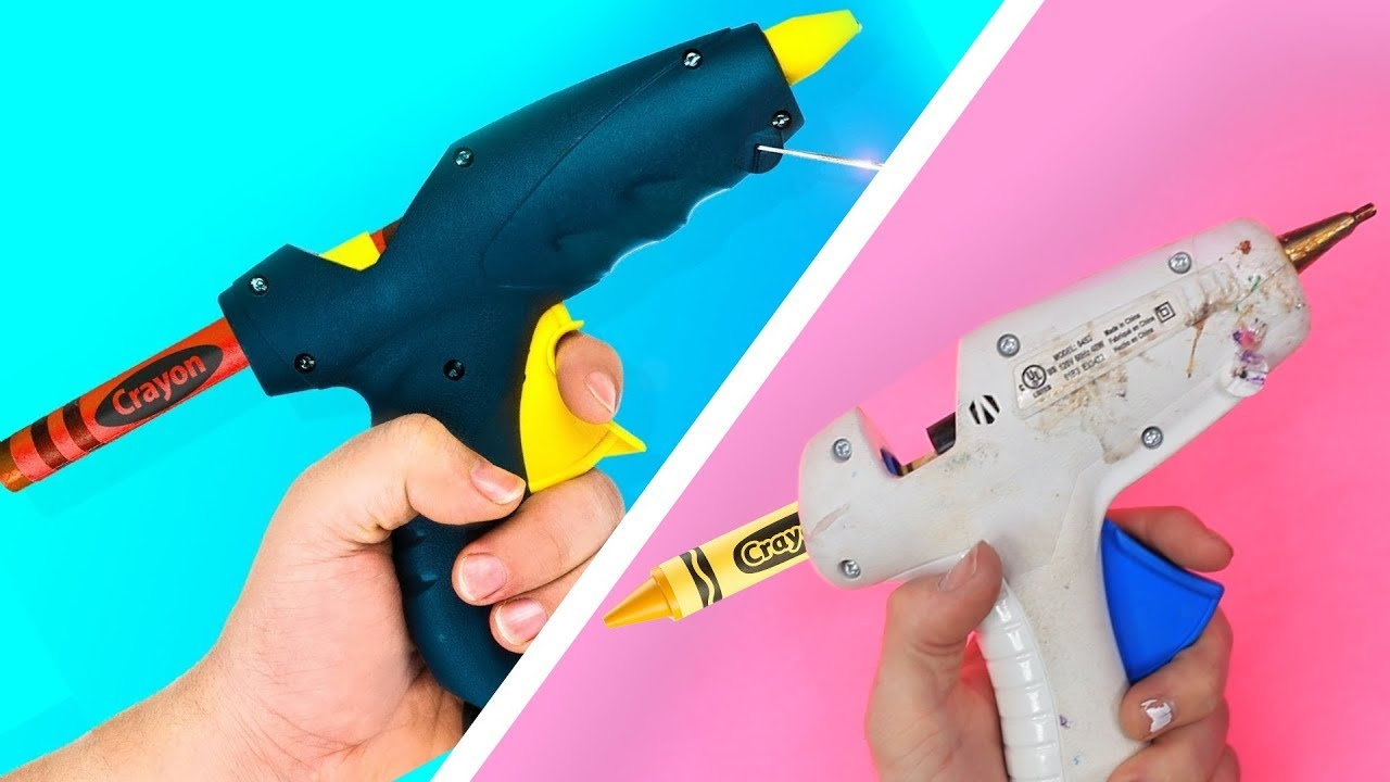 [VIDEO] - TRYING 15 COLORFUL CRAYON IDEAS AND LIFE HACKS BY 5 Minute Crafts 6