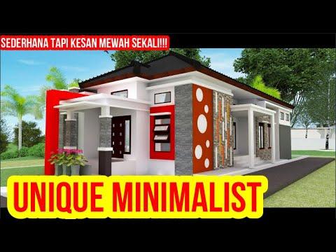 Rumah Unik Minimalis Modern 10x20 Meter 3 Kamar Tidur Youtube