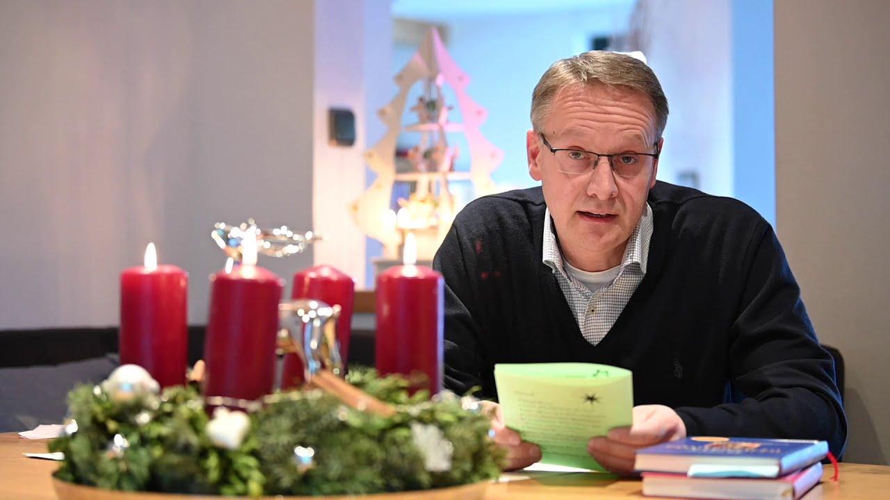 Lebendiger Adventskalender zum dritten Advent.